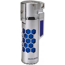Briquet BUGATTI double torche Mirage Bleu