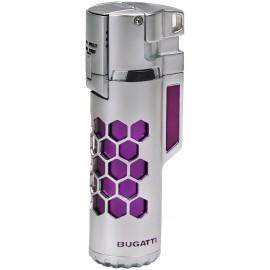 Briquet BUGATTI double torche Mirage Violet