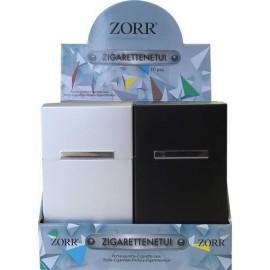 Etui Cigarette Aluminium Slim, pour 20 cigarettes, display de 10