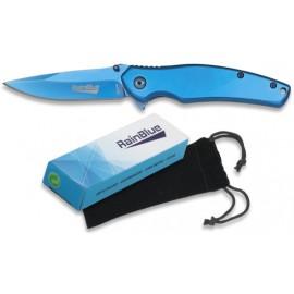 Couteau FOS Rainblue 8 cm, avec étui velours