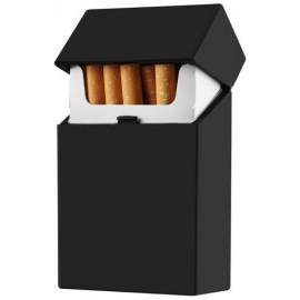 cigarette case rubber black per 12 pcs