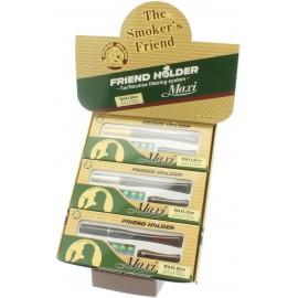Fume cigarette Maxi Slim FRIEND HOLDER, display de 6