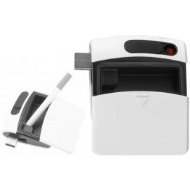 Cendrier avec briquet USB Blanc