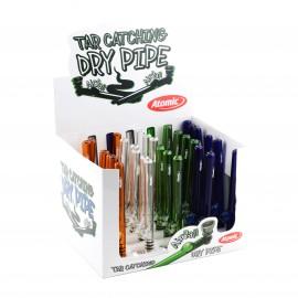 tobaccopipe glass assorted per 30 pcs