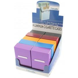 Etui Cigarette Alu Métal assortis 20101, par 10