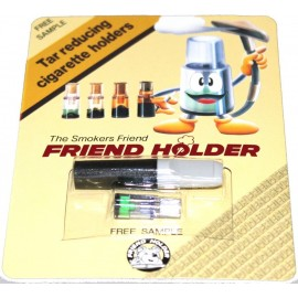 Blister de 2 pcs FRIEND HOLDER 1 filtre+1 fume cigarette
