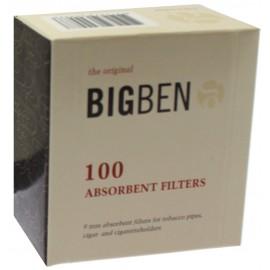 Filtre Pipe BIG BEN 9 mm, boîte de 100 filtres