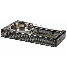 Cigar ashtray carbon fiber