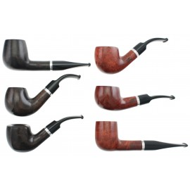 Pipes REVA Bague Alu, lot de 6