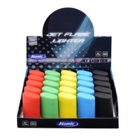 jet flame lighter rubber assorted per 25 pcs