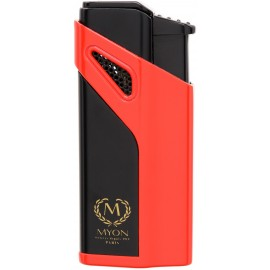 Briquet MYON Cigare triple jet Racing Edition Rouge