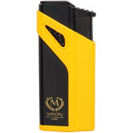 Briquet MYON Cigare triple jet Racing Edition Jaune