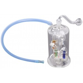 BHO glass pipe 15 cm with percolator