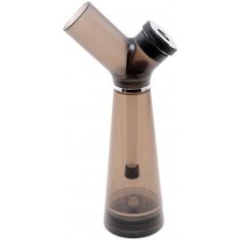 Bang 23 cm en acrylique noir, avec grinder intégré