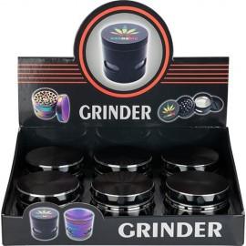 zorr grinder black 63 mm 4 parts per 6 pcs