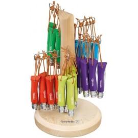 Opinel Colorama knife N°07 60 pcs baroudeur assorted