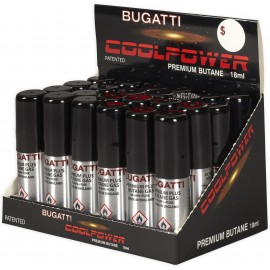 gaz refills 18 ML BUGATTI assorted per 24 pcs