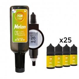 Pack E-liquid YUN Honeydew 500mL
