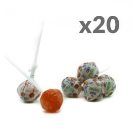 Lollipop CBD Strawberry Cibiday (4mg CBD/sucette) 20pcs