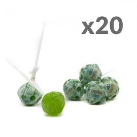 Lollipop CBD Apple Cibiday (4mg CBD/sucette) 20pcs
