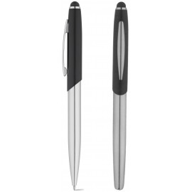 set roller pen and ball pen DOUBLETTE with touch tip