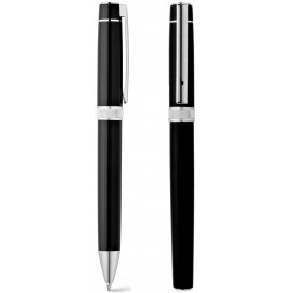 set roller pen and ball pen DOURO metal in gift case