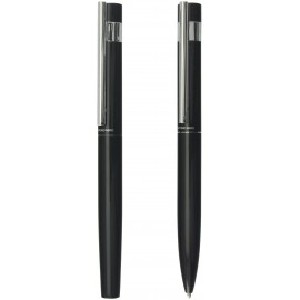 set WORDEN pen and roller Antonio Miro Black in gift box