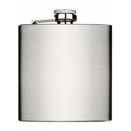 flask 180 ml 60z silver satin 94 x 110 x 20 mm