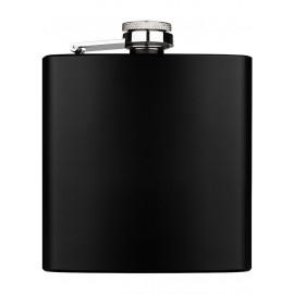 flask 180 ml 60z black mat 91 x 110 x 20 mm