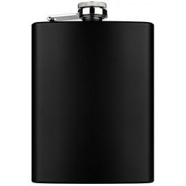 flask 240 ml 80z black mat 94 x 134 x 20 mm