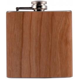 flask 180 ml/60z  wood