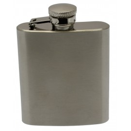 Flasque SAREVA 90 ml acier brossé