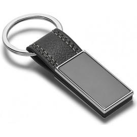 key chain imitation leather gun in gift box