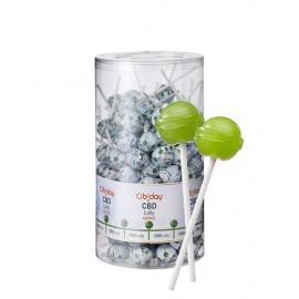 Lollipop CBD Apple Cibiday (4mg CBD/sucette) Display 120pcs