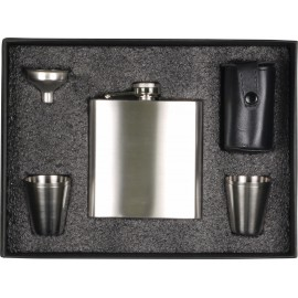 Boxed set Flask 180mL + 4 Cups and 1 Funnel