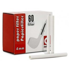 Denicotea paper filter 4 mm, box of 60