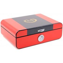 Myon humidor red for 25 cigars 280 x 200 x 90 mm