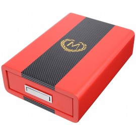 Myon set cigar Red with ashtray, cutter and piercer