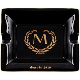 Myon cigar ashtray black/gold 205 x 168 x 35 mm