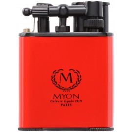 Myon cigar lighter racing edition twin jet red