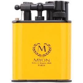 myon cigar lighter racing edition twin jet yellow