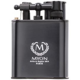 myon cigar lighter racing edition twin jet black