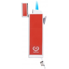 myon cigar lighter racing edition twin jet red with piercer