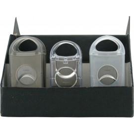 cigar cutter colton 2-blade transparent assorted