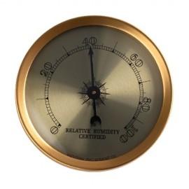 hygrometer gold cigar oasis