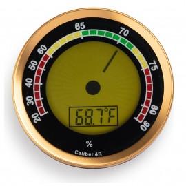 hygrometer digital gold cigar oasis