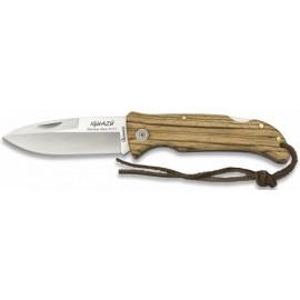 knife iguazu zebra 9 cm