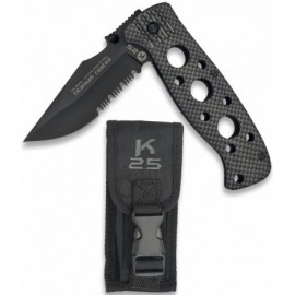 tactique knife black 8.5 cm in pouch