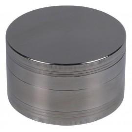 metal grinder gun Ø 9.8 cm, 4 parts, in gift box