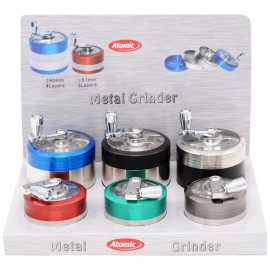 mill grinder 5.1 and 6 cm, per 6 pcs (3 sizes each)